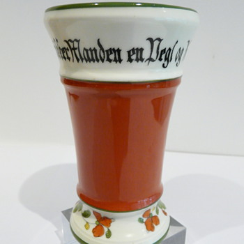 PORSGRUND DRINKING BEAKER NORWAY - Art Pottery