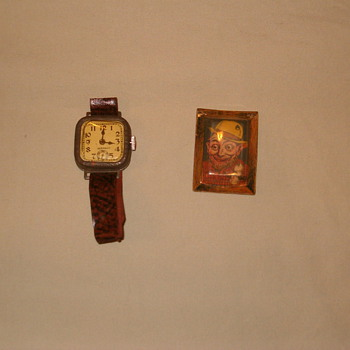 old children's toys/ cracker jack toy - Wristwatches