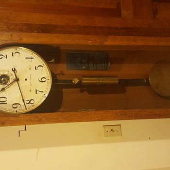 Seth Thomas Master Regulator Clock