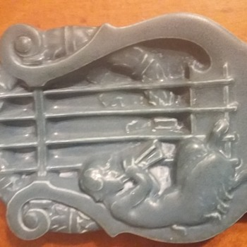 Rookwood Pottery Faun Plaque