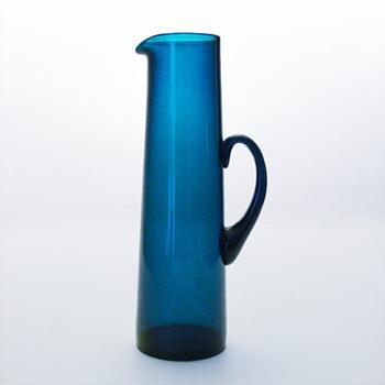 Jug, Gunnar Ander (Lindshammar, 1950s) - Art Glass