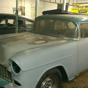 55 chevy & 51 merc - Classic Cars