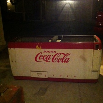Coca Cola Ice Chest Parts Machine