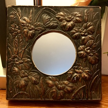 My favorite vintage mirror - Arts and Crafts