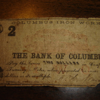 Confederate Bills