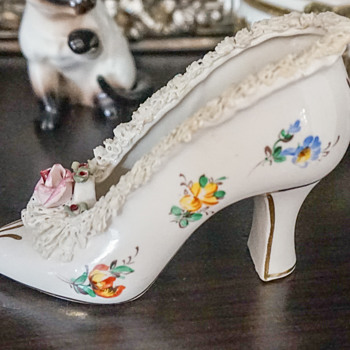Porcelain High Heel Shoe