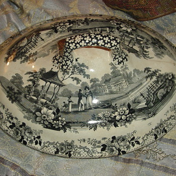 HARDY STONEWEAR SOUP BOWL - China and Dinnerware