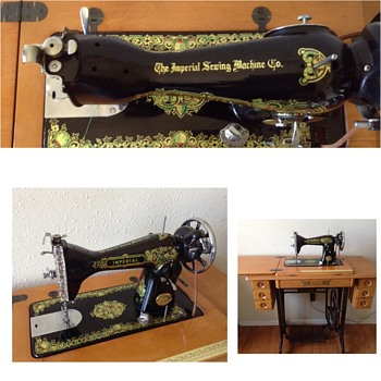 Imperial Sewing Machine - Sewing