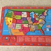 Vintage USA children's sectional puzzle