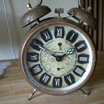 Wedgefield Double Bell Alarm  Clock