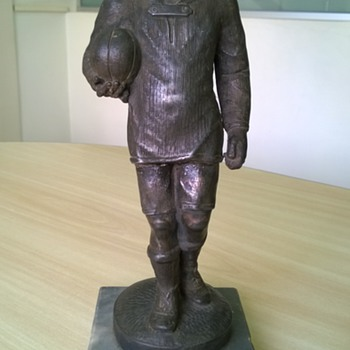 1930's Football (Soccer) Trophy - Football