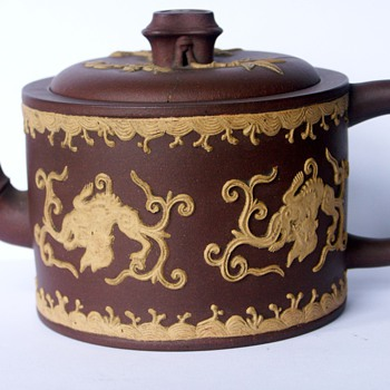 Puzzling Small Early English Redware Teapot Wedgwood?   - Art Pottery