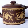 Puzzling Small Early English Redware Teapot Wedgwood?