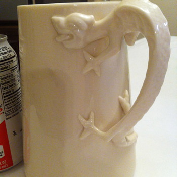 Lenox Belleek dragon mug
