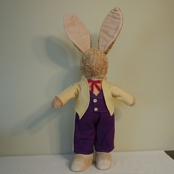 Vintage Rabbit Doll - Dolls
