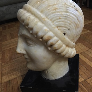 Antiquities Ancient Roman Greek Sculpture Marble $10 - Visual Art
