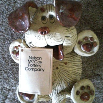 McCoy Dog - Art Pottery