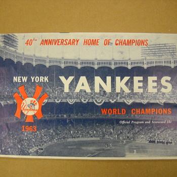 1st ever meeting - Yankees -Mets - Baseball