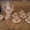 Royal Worcester Roanoke pattern coffee service