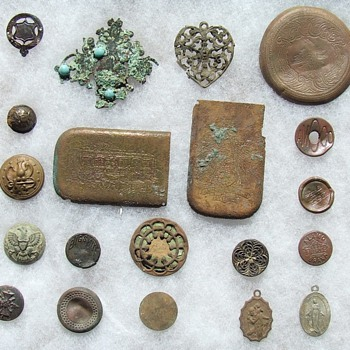 More Metal Detecting Finds From Over The Years