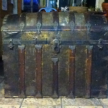 Dome Top Trunk circa 1880's