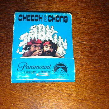 cheech & chong matches - Tobacciana
