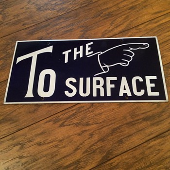 To The Surface - Pointing Finger Sign