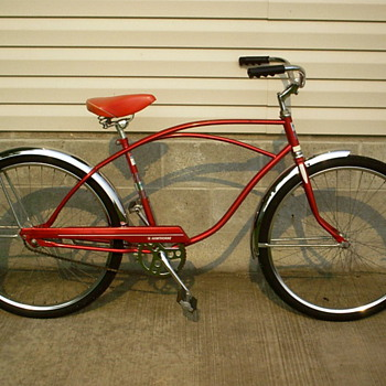Montgomery-Ward Hathorne bicycle.