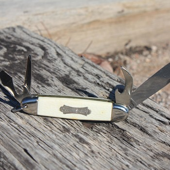 'JOWIKA' Republic of Ireland CAMPER'S UTILITY POCKET KNIFE - Tools and Hardware