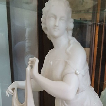 Belleek Figure of Erin - 1st mark