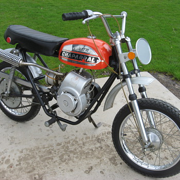 1972 Chaparral mini-bike T-172 Bullet