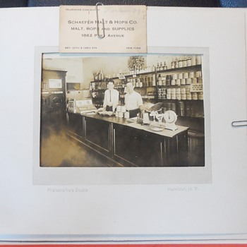 Antique Photograph of Business in the 1800 - Photographs