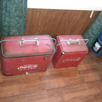 great flea market find. love to flea market or yard sale for this stuff. - Coca-Cola