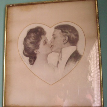 "Early 20th century ""love"" - Posters and Prints"