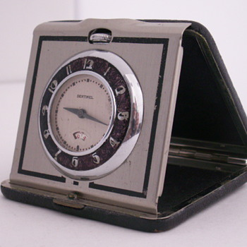 Ingraham Sentinel Travel Clock