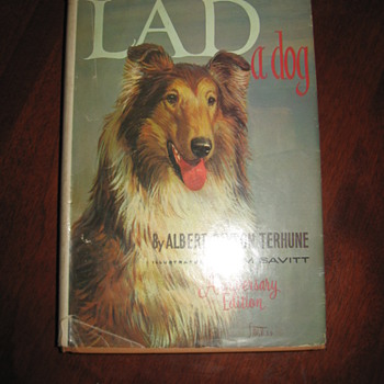 Albert Terhune And the family of Lad a Dog