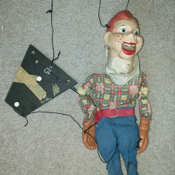 Old Howdy Doody Marionette - Toys