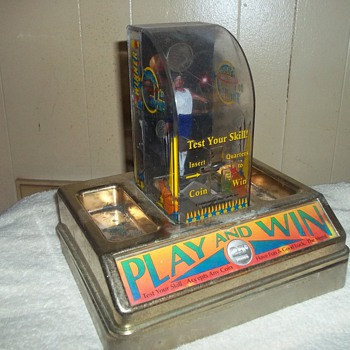 BARTOP BASKETBALL GAME - Coin Operated