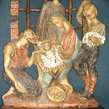Nativity Italian Sculpture  - Christmas
