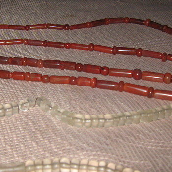 A 2000 BC HAND MADE CRYSTAL NECKLECES - Native American