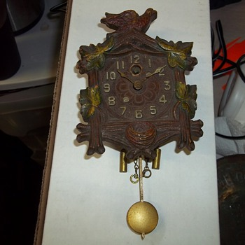 MINIATURE KEEBLER  WALL CLOCK