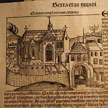 Curch Of the Templars 1493 Lutheran Bible