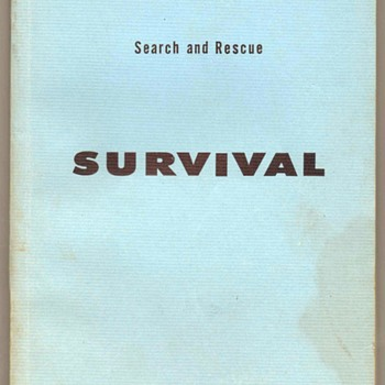 1962 - U.S. Air Force Search & Rescue Survival Manual