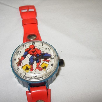 Marx Toy Spiderman Wrist Watch