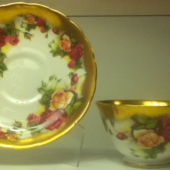 Royal Chelsea Cup and Saucer Set - China and Dinnerware