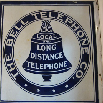 Bell Tel sign - Telephones