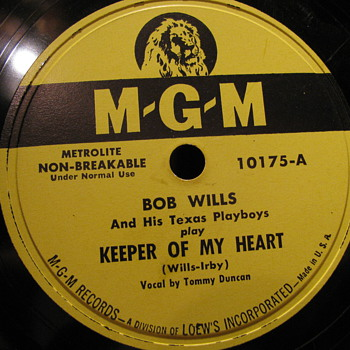 Bob Wills and his Texas Playboys! - Records