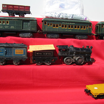 American Flyer Postal Trains at Alameda - Model Trains