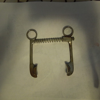 Found at an antique sale- Dental tool possibly?