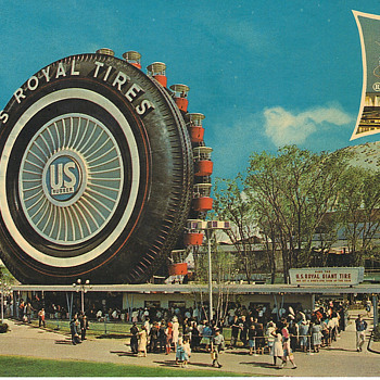 Official World's Fair Post Card - Postcards